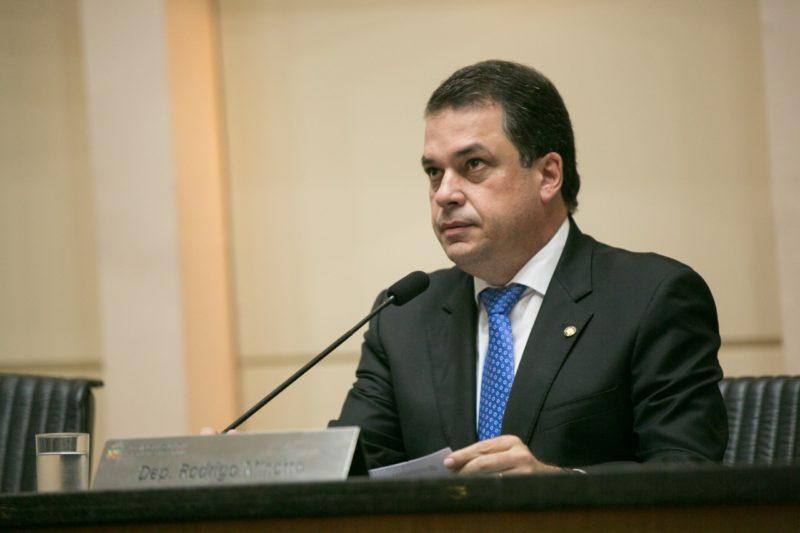 Deputado estadual Rodrigo Minotto protocolou Pedido de Informação – Foto: Divulgação
