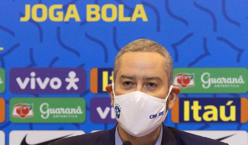 Caboclo diz ser inocente das acusações – Foto: Lucas Figueiredo/CBF