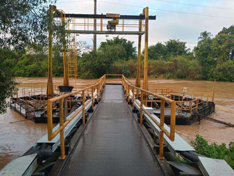Algumas estações da Semasa precisaram ser paralisadas por conta das chuvas – Foto: Semasa/Divulgação