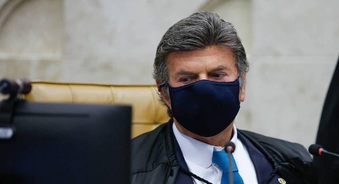 Presidente do STF, Luiz Fux, vai julgar ações sobre a realização da Copa América no país esta quinta (10) – Foto: Fellipe Sampaio /SCO/STF