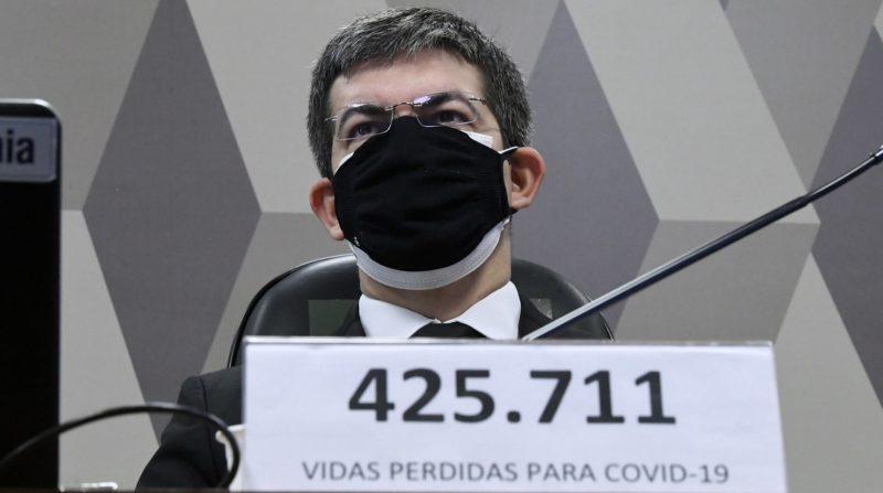 Governo Bolsonaro deixou 53 e-mails da Pfizer sem resposta, diz Randolfe – Foto: Edilson Rodrigues/Agência Senado