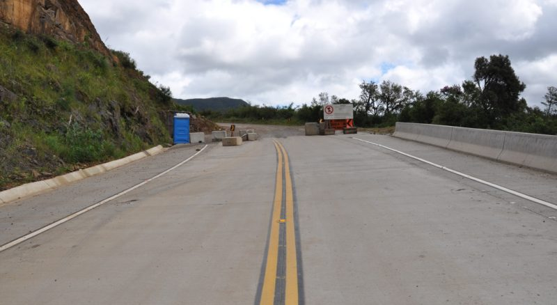Sistema de comboio inicia nesta segunda-feira (14) na Serra da Rocinha – Foto: Divulgação/DNIT/ND