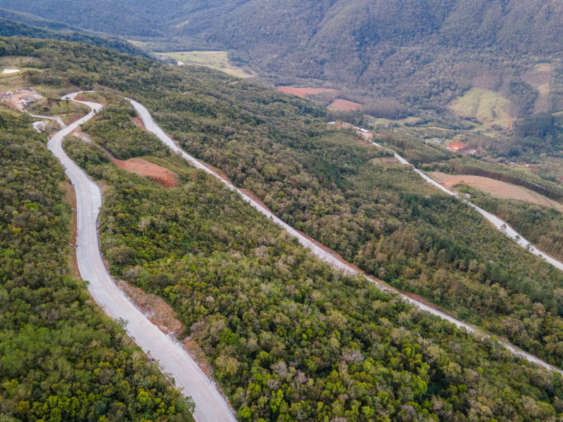 DNIT ampliou os horários de liberação da Serra no trecho que liga Timbé do Sul (SC) e São José dos Ausentes (RS) – Foto: DNIT/ND