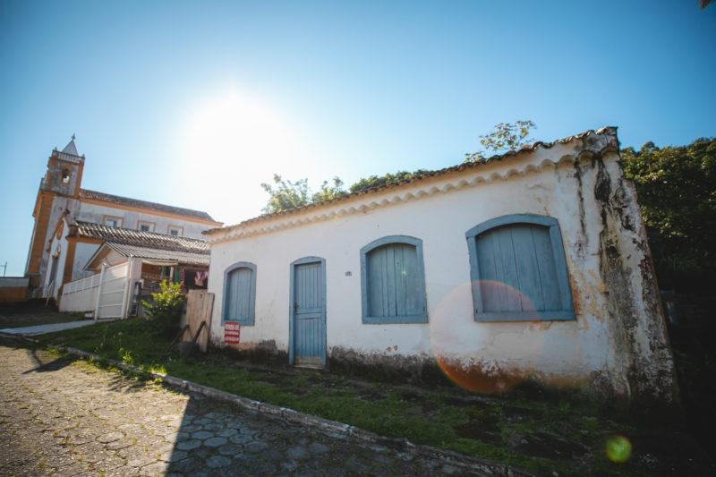 Primeira casa construída em Ribeirão da Ilha – Foto: José Somensi Fotografia/ND