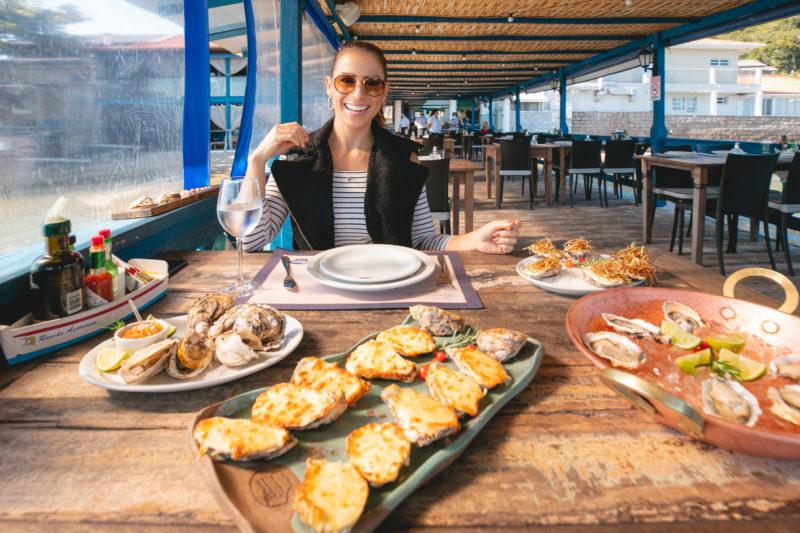 Apreciação de ostras – Foto: José Somensi Fotografia/ND