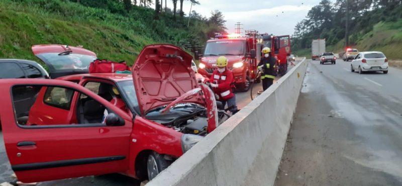 acidente em Joinville