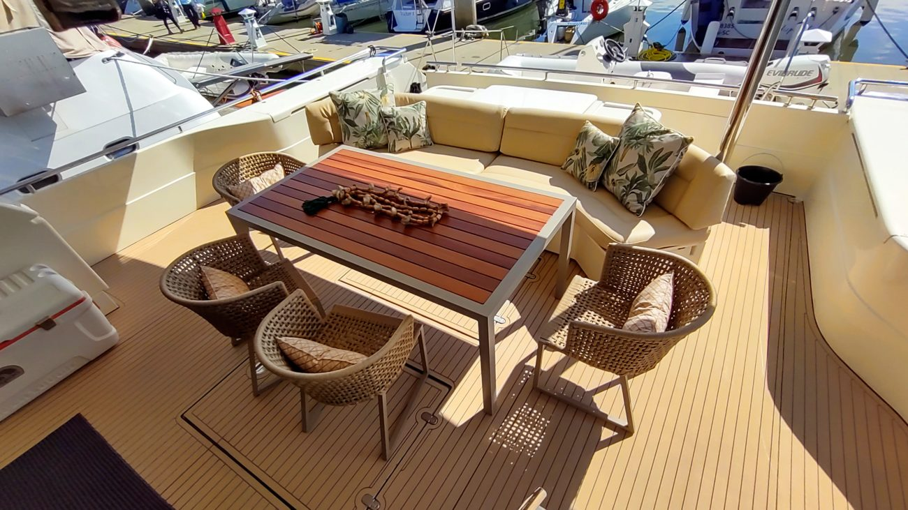 Embarcação de luxo é a maior de cotas da América Latina - Alex Ferrer/Divulgação