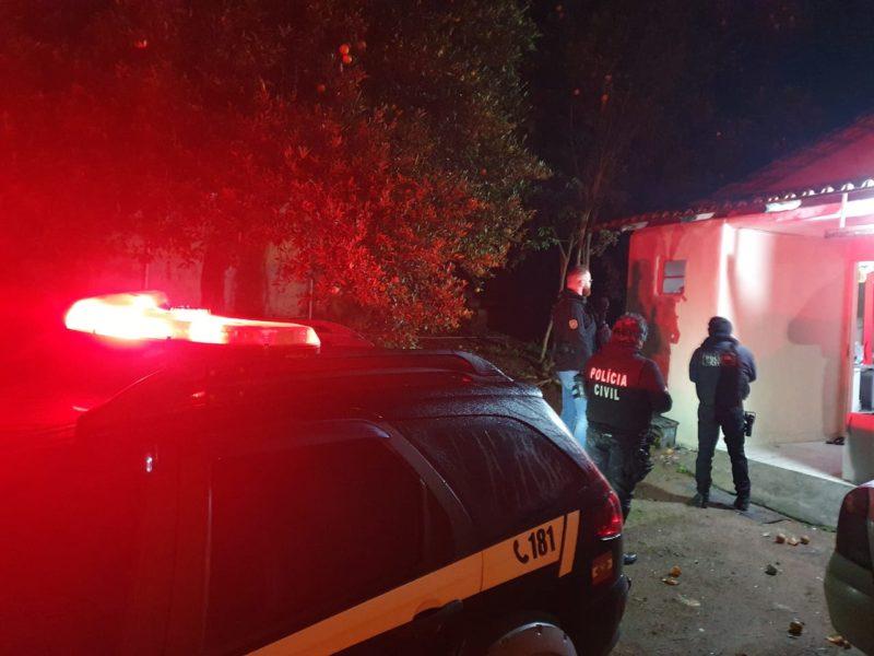 Até o momento 10 pessoas foram presas na operação que visa o combate ao tráfico de drogas no Sul do Estado – Foto: Polícia Civil/ND