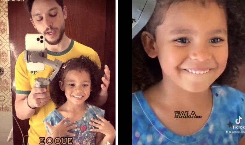Vídeo de pai motivando a filha viralizou na última semana