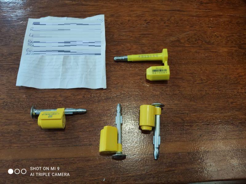Criminosos chegaram a criar uma empresa para que pudesse fazer o transporte da droga – Foto: Polícia Federal/Divulgação