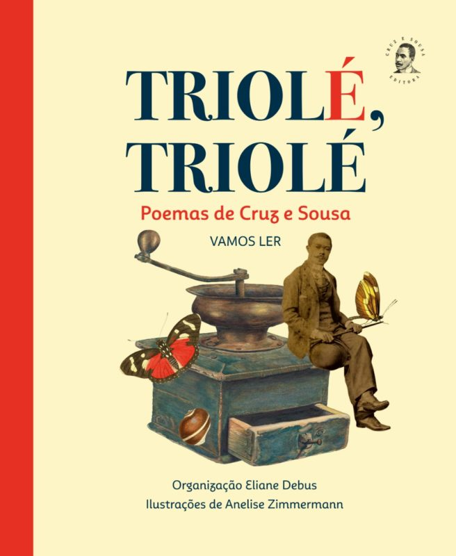Livro com poemas de Cruz e Sousa será lançado no dia 17 de junho