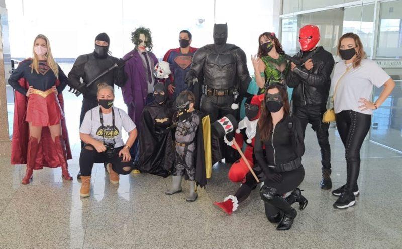Turma do Batman pronta para agir em mais uma ação solidária – Foto: Divulgação/Divulgação/ND