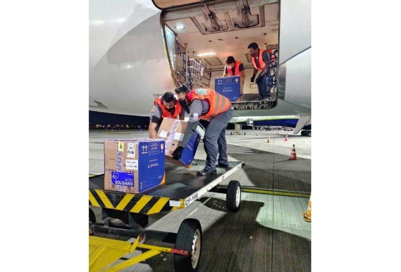 Lote com vacinas produzidas pela Pfizer desembarcam em Florianópolis – Foto: Dive/SC/Divulgação/ND