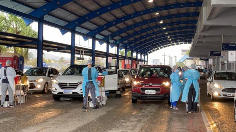 Novos grupos devem começar a receber primeiras doses – Foto: Prefeitura de Florianópolis/Divulgação/ND