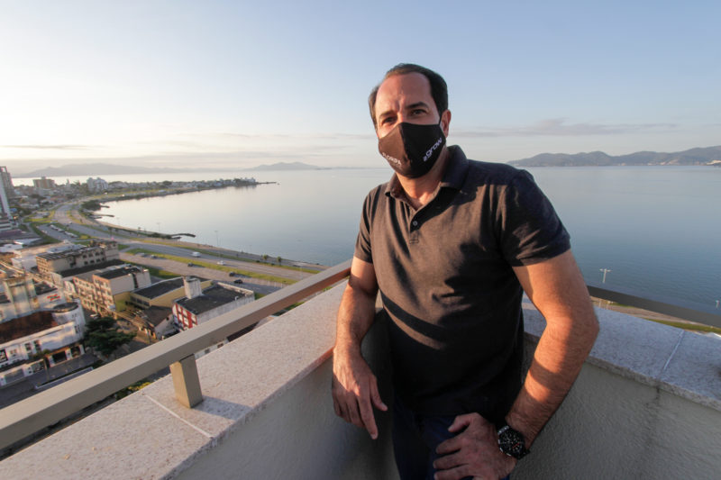 """O empreendedor Valton Carlos Werner Júnior disse que uma """"ambição bonita"""" para o bairro – Foto: Leo Munhoz/ND"""