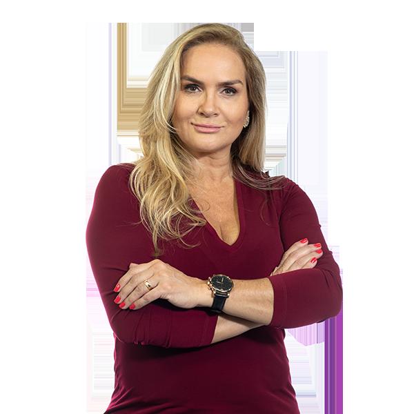 Vera Toledo estreia programa em novo horário – Foto: Divulgação/Record News