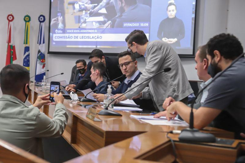 Comissão Legislação Reforma Previdência – Foto: Mauro Artur Schlieck/ND