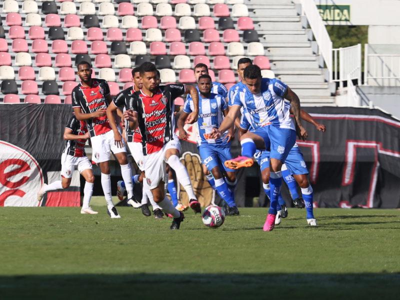 JEC e Esportivo ficaram no 0 a 0 na tarde deste sábado (24), na Arena Joinville – Foto: Vitor Forcellini/JEC/Divulgação/ND