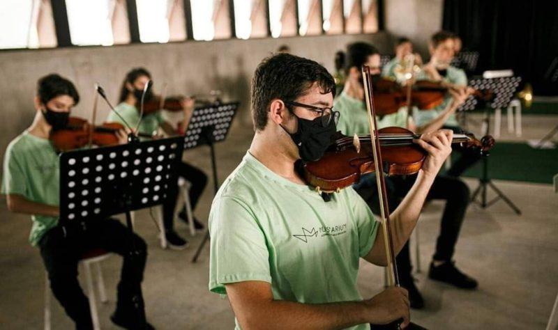 Musicarium atende crianças e adolescentes de 4 a 17 anos de idade – Foto: Divulgação