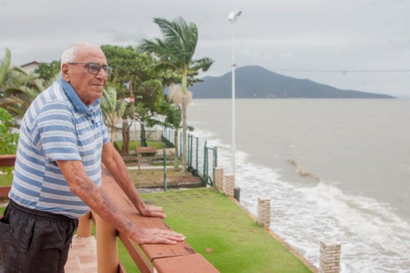Aos 84 anos, morre um abnegado do futebol amador de Biguaçu. – Foto: Arquivo/Flávio Tin/ND