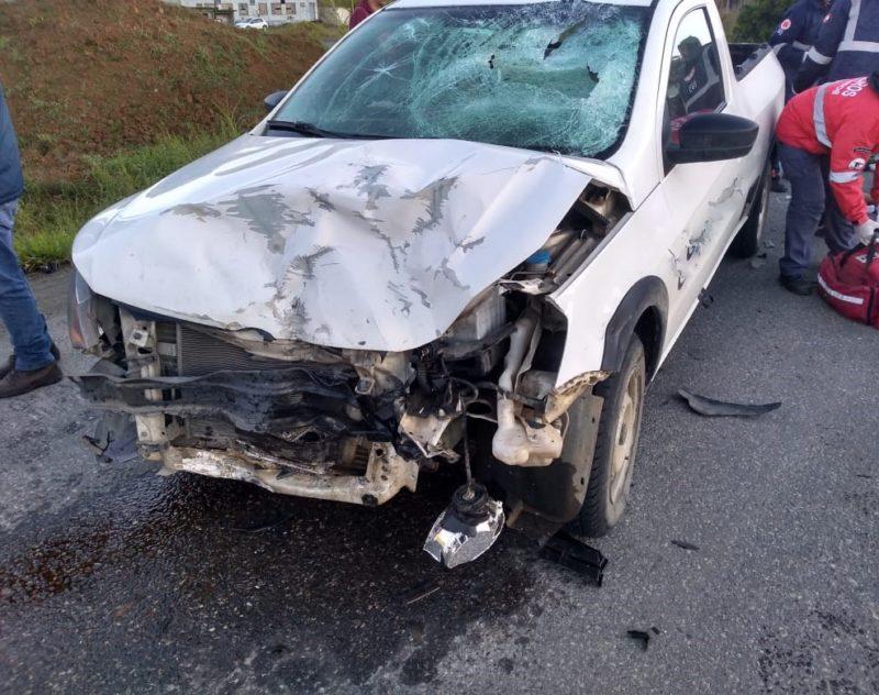 Motociclista morre em grave acidente na Rodovia do Arroz, em Guaramirim