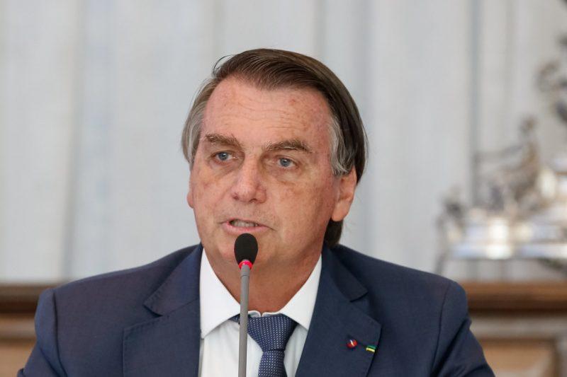 Presidente Jair Bolsonaro disse que vai vetar o fundo eleitoral – Foto: Alan Santos/PR/ND
