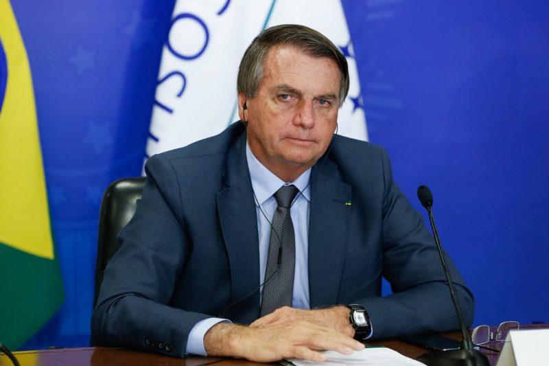 STF inclui o presidente Jair Bolsonaro no inquérito que investiga a propagação de fake news sobre o sistema eleitoral brasileiro – Foto: Alan Santos/PR