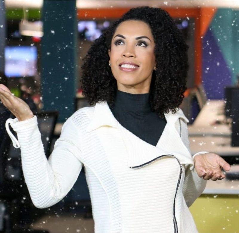 Amanda Santos, apresentadora da Central do Tempo, dá dicas de como montar um boneco de neve bonito – Foto: Reprodução Instagram/ND