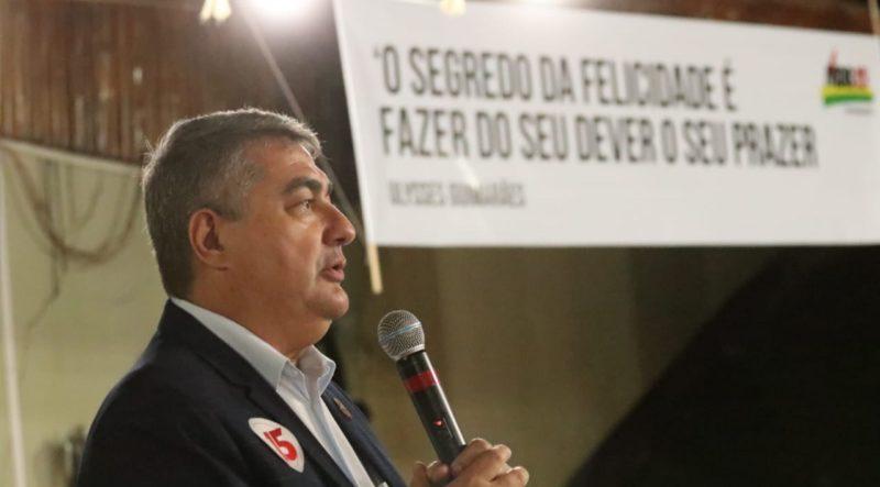 Antídio Lunelli é o atual prefeito de Jaraguá do Sul e tem o nome na lista de pré-candidatos ao Governo pelo MDB – Foto: Redes sociais