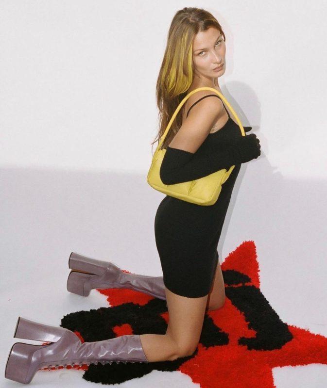 As shoulder bags estão de volta e as celebridades estão usando sempre
