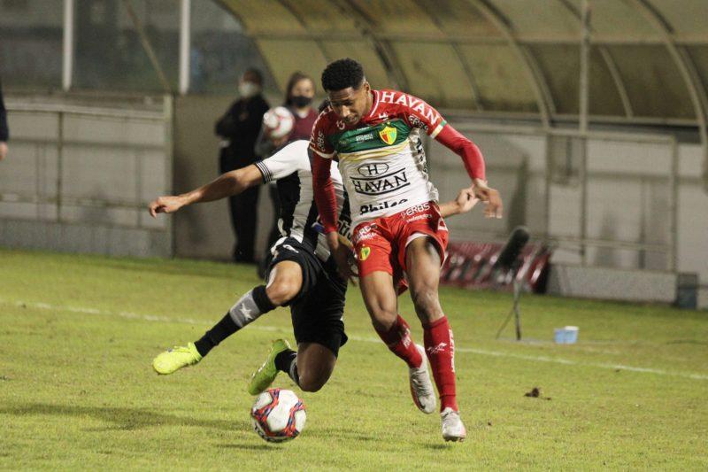 Com o resultado, o Brusque ficou em 10º lugar – Foto: Lucas Gabriel Cardoso/Brusque FC
