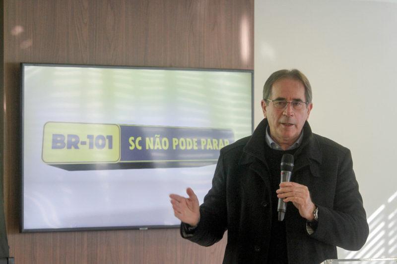 Campanha do Grupo ND e Fiesc sobre a rodovia BR-101 vai apontar os problemas de congestionamento e excesso de tráfego, mas também possíveis soluções – Foto: Leo Munhoz/ND
