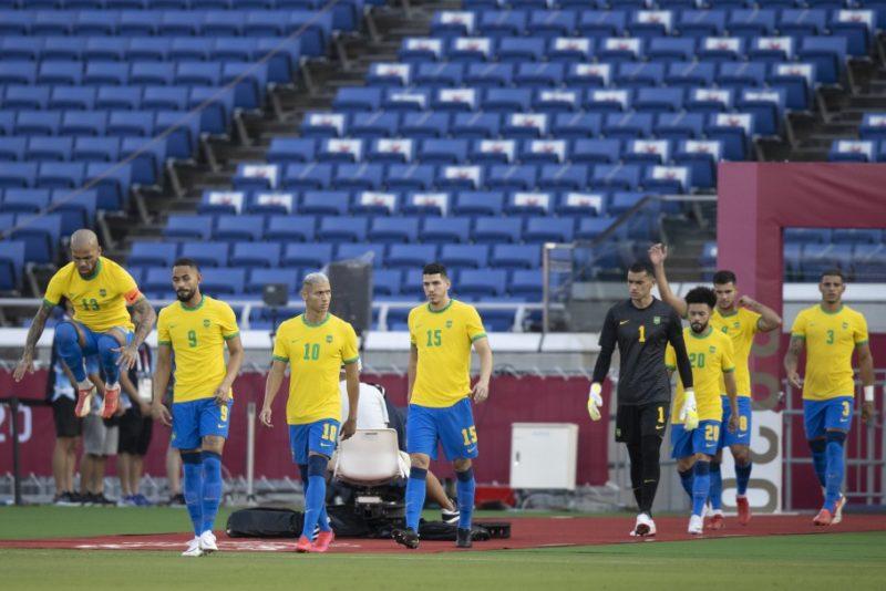 Brasil busca classificação contra a Arábia Saudita em Tóquio – Foto: Lucas Figueiredo/CBF/ND