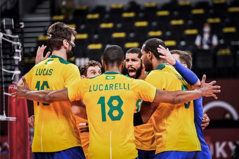 Brasil encara a Rússia buscando vaga na final – Foto: COB/divulgação