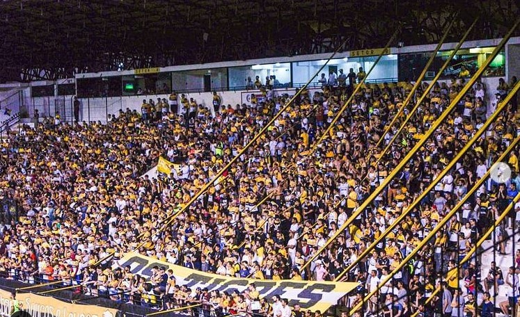 Estádio Heriberto Hülse, em Criciúma, recebe o primeiro jogo com público em SC – Foto: Instagram Os Tigres/Reprodução/ND