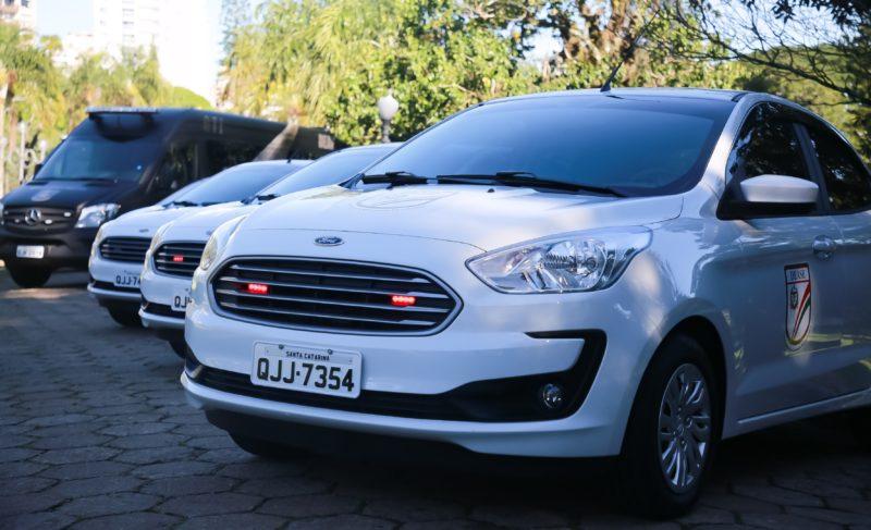 SC quer locar mais 100 carros para a Secretaria de Administração Prisional – Foto: SAP/Divulgação/ND