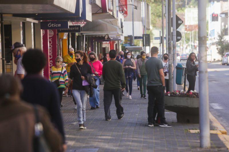 Novo decreto de Joinville manteve regras por mais sete dias – Foto: Carlos Jr/ND
