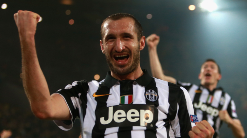 Chiellini é ídolo na Juventus – Foto: Uefa/Divulgação