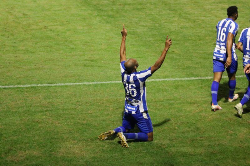 Copete em boa fase marcou o gol da vitória do Avaí diante do Operário-PR – Foto: Frederico Tadeu/Avaí FC/ND