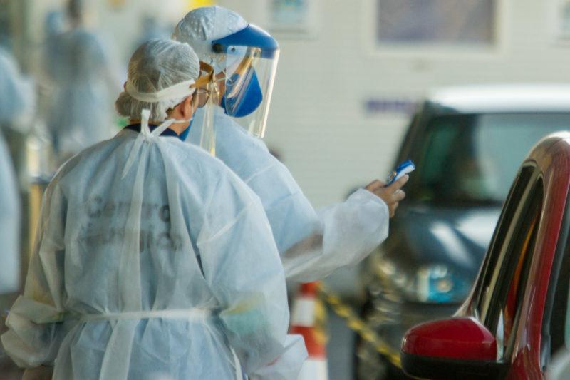 Os cuidados com a Covid-19 não devem parar em Santa Catarina: a testagem em massa da população, junto do uso de máscaras e álcool em gel previne o contágio da doença – Foto: Flavio Tin/Arquivo/ND