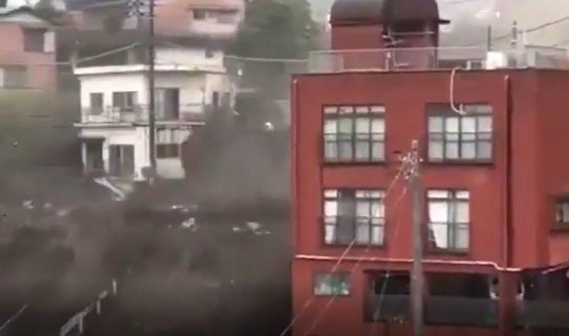 Landslide dies in Japan & # 8211;  Photo: Social Media