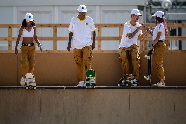 Time Brasil na estreia do skate nos Jogos Olímpicos: dia histórico – Foto: COB/divulgação