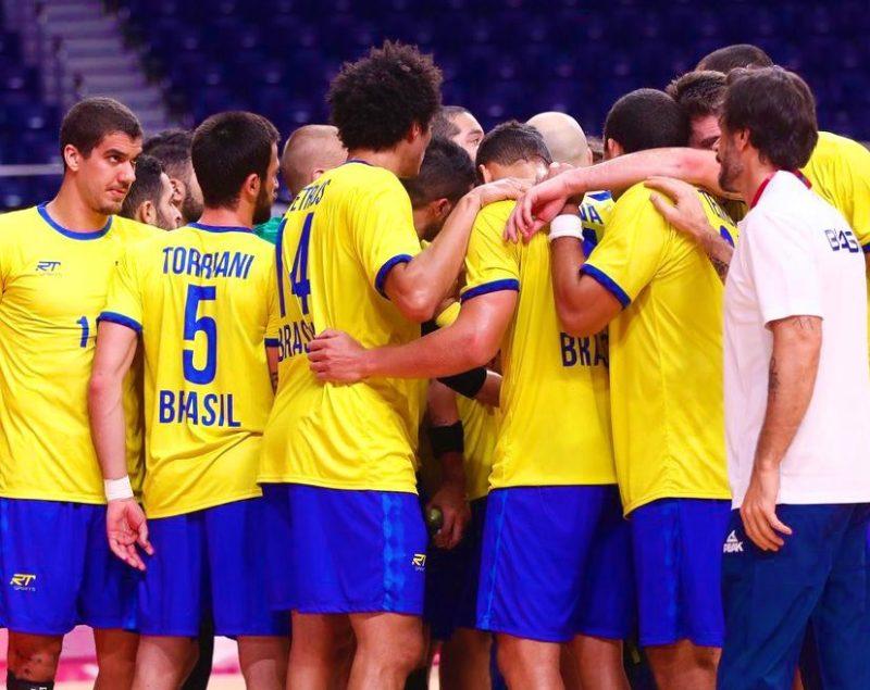 Brasil venceu a Argentina pelo handebol e segue vivo na briga por medalhas. – Foto: COB/divulgação