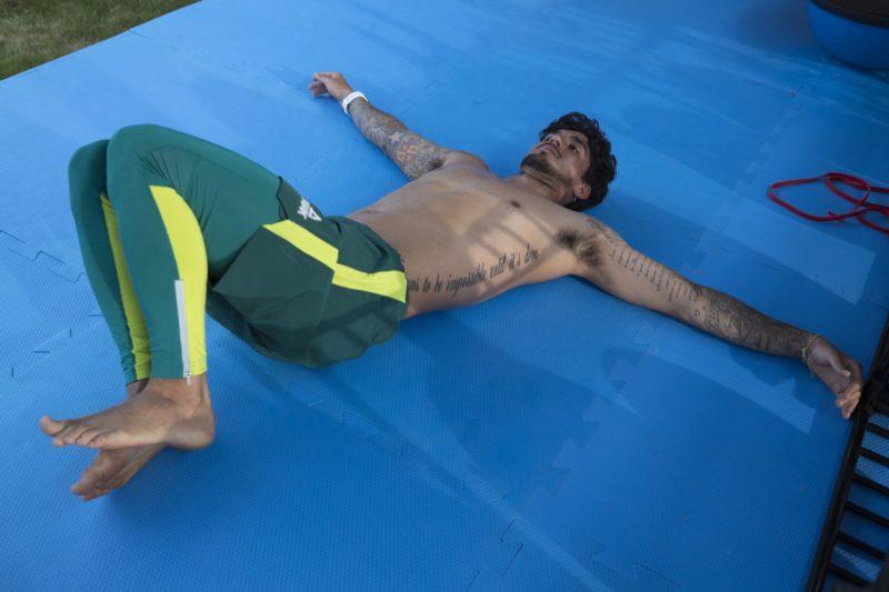 """Gabriel Medina foi um dos atletas que se envolveu em polêmica a partir do uso do seu perfil em redes sociais, em meio a disputa dos <a href=""""https://ndmais.com.br/olimpiadas-toquio-2020/"""" target=""""_blank"""" rel=""""noopener noreferrer"""">jogos</a> &#8211; Foto: Julio Cesar Guimarães/COB/divulgação"""