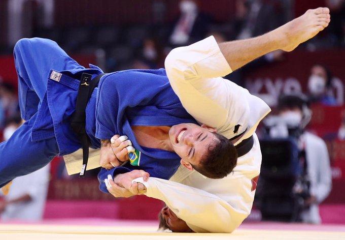 Daniel Cargnin, da categoria até 66 kg do judô brasileiro: está nas semifinais – Foto: COB/divulgação