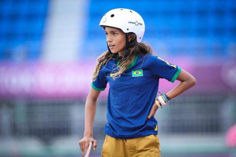 Rayssa Leal, de apenas 13 anos, conquistou a prata em Tóquio- Foto: Wander Roberto/COB/divulgação