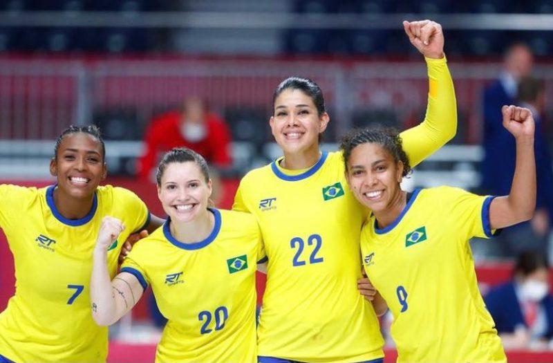 Time de Handebol do Brasil nos Jogos Olímpicos de Tóquio – Foto: COB/divulgação