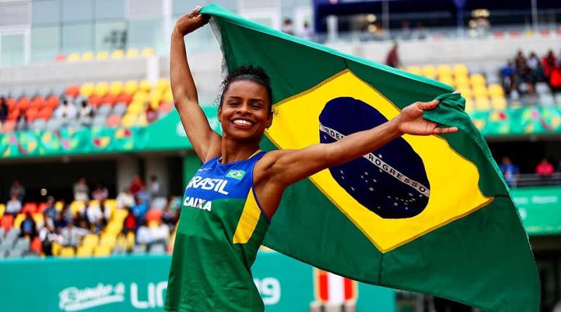 Eliane Martins compete no salto em distância – Foto: Wagner Carmo/CBAt