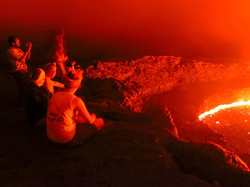 Vulcão atrai centenas de visitantes todos os anos – Foto: Richard Thehiker/Divulgação/ND