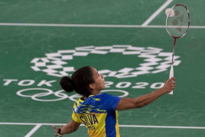 Fabiana Silva foi eliminada dos Jogos Olímpicos de Tóquio – Foto: Julio Cesar Guimarães / COB